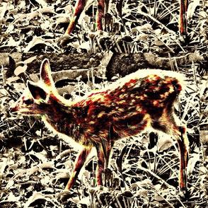 Bambi in My Back Yard