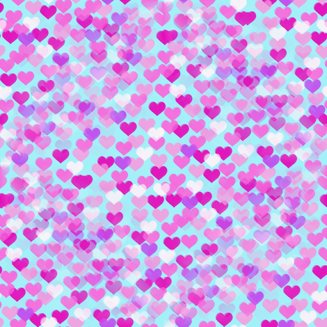 hearts_fabric fabric by farrellart on Spoonflower - custom fabric