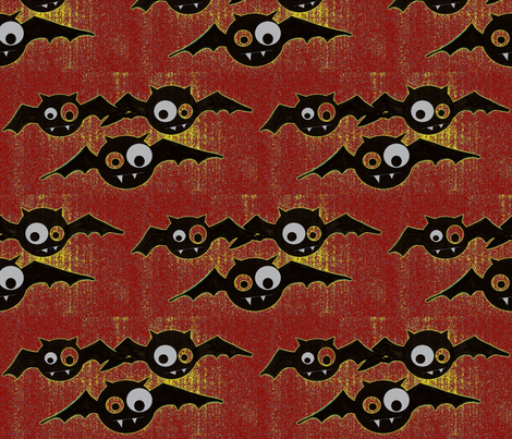 Batface fabric by koffeycakes on Spoonflower - custom fabric