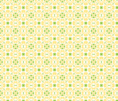 Lemon Pie fabric by inscribed_here on Spoonflower - custom fabric