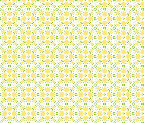 Lemon Meringue fabric by inscribed_here on Spoonflower - custom fabric