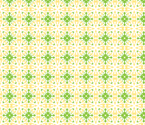 Lemon Chiffon fabric by inscribed_here on Spoonflower - custom fabric