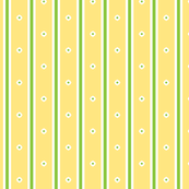 Lemon Blossom Stripe