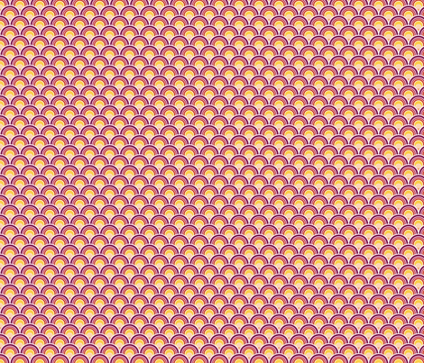Purple Sunrise fabric by wildnotions on Spoonflower - custom fabric