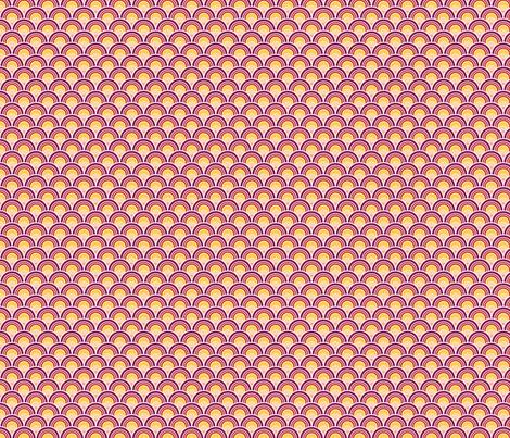 Purple Sunrise fabric by wildnotions on Spoonflower - custom fabric