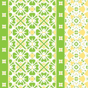 Lemon Lime Border