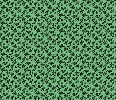 ShadowFoliage-Green fabric by jpfabrics on Spoonflower - custom fabric