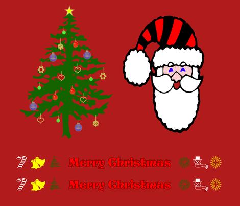 Christmas Smart Bag fabric by katsanders on Spoonflower - custom fabric