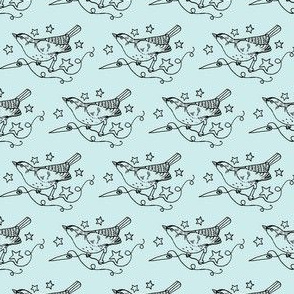 StarSparrows in Blue