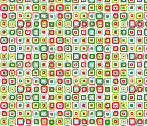 Christmas Cubes fabric by pattysloniger on Spoonflower - custom fabric