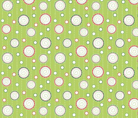 Fun Holiday Dots fabric by pattysloniger on Spoonflower - custom fabric