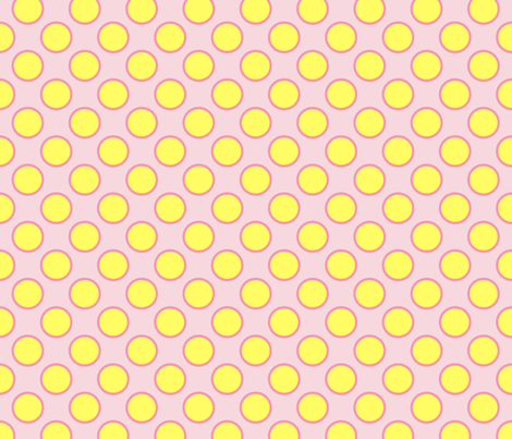 yellow_dots fabric by oranshpeel on Spoonflower - custom fabric