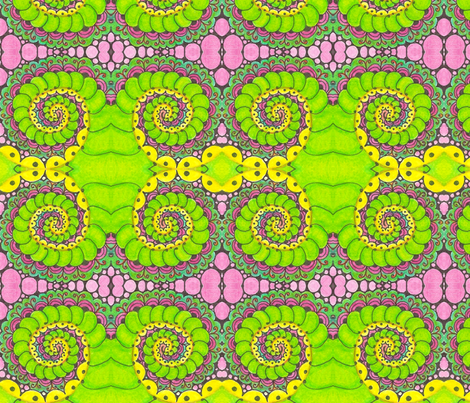 spiral_series_4 fabric by chelmers on Spoonflower - custom fabric