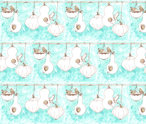 welcome fabric by erin_lebeau on Spoonflower - custom fabric