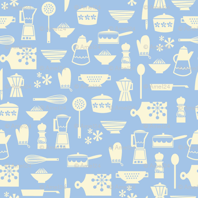 kitchen culture chine blue