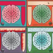 A full yard of brains!