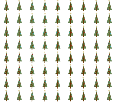 christmas_tree fabric by phatsheepfabrics on Spoonflower - custom fabric