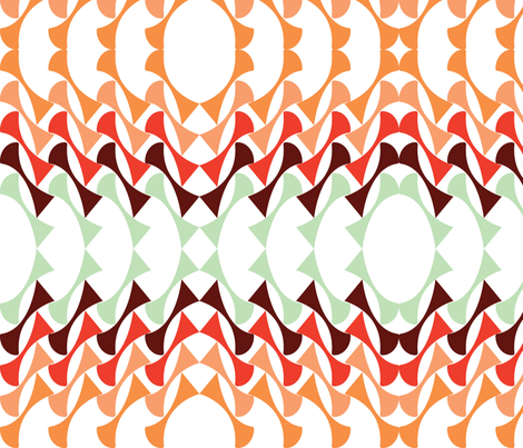SWIRLIES fabric by heatherrothstyle on Spoonflower - custom fabric