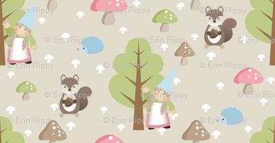 Woodland Friends - Pink
