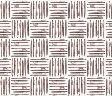 Retro Machanical Pencil fabric by dorolimited on Spoonflower - custom fabric