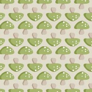 Woodland Mushroom - Green