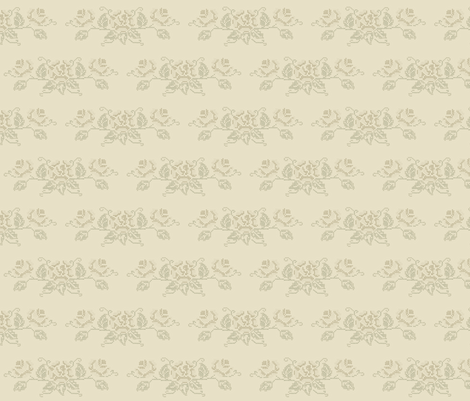 Cross Stitch Rose  fabric by heidikaether on Spoonflower - custom fabric