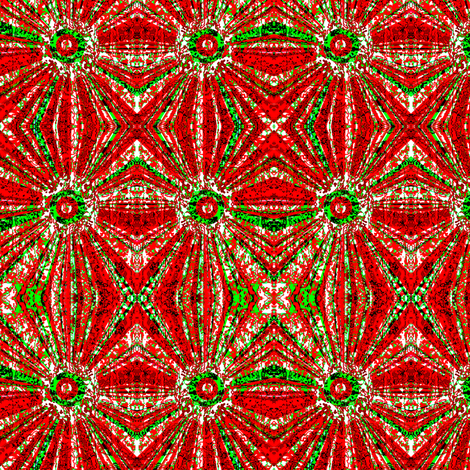 Christmas Swirl Mirrored fabric by robin_rice on Spoonflower - custom fabric