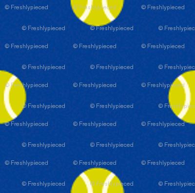 Tennis Ball Dot Blue