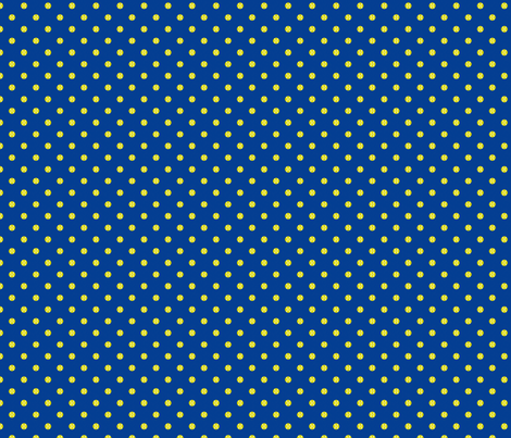 Tennis Ball Dot Blue