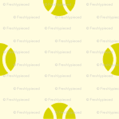 Tennis Ball Dot Green