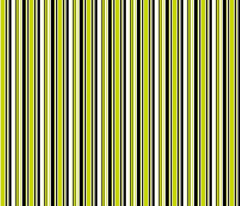 Tennis Stripe Green fabric by freshlypieced on Spoonflower - custom fabric