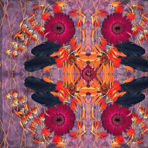 Raven, Petal Mandala