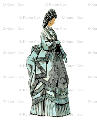 1800 French Fashion Aqua