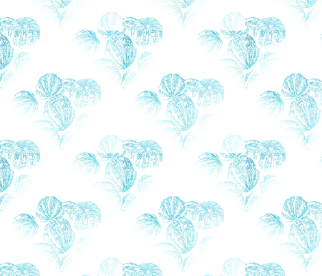 blue_gourds fabric by farrellart on Spoonflower - custom fabric