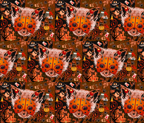 Hallo Kitty fabric by paragonstudios on Spoonflower - custom fabric
