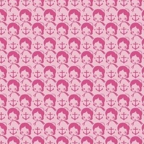 Anchors Aweigh! Pinku colorway