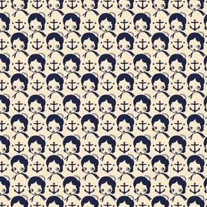 Anchors Aweigh! Tea & Ink colorway