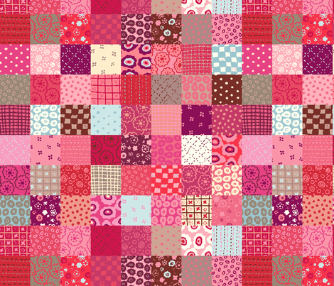 Design Crafty Cheater Quilt Cloth fabric by designcrafty on Spoonflower - custom fabric