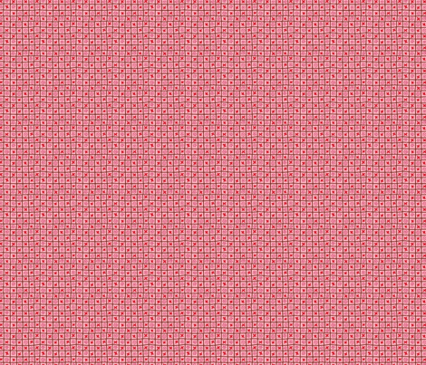 Design Crafty pink check fabric by designcrafty on Spoonflower - custom fabric