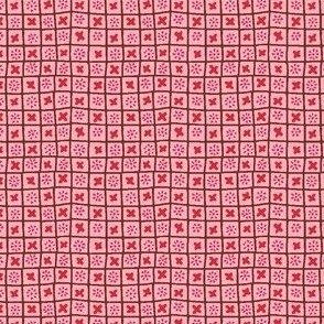 Design Crafty pink check
