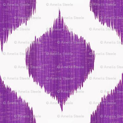 Lela Ikat in Regal Purple