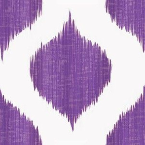 Lela Ikat in Regal Purple