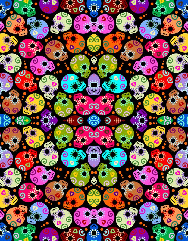 girly skull wallpaper images