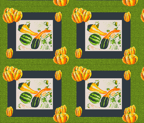 Gourds Galore fabric by may_flynn on Spoonflower - custom fabric