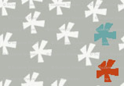 snowflake multi colour