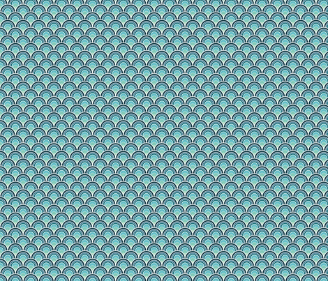 Ocean Bloom fabric by wildnotions on Spoonflower - custom fabric