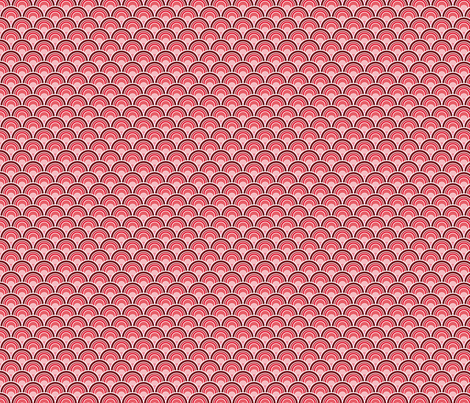 Candy Apple Bloom fabric by wildnotions on Spoonflower - custom fabric