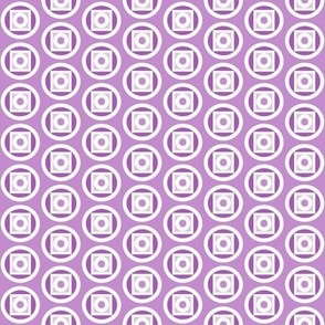 Circle takes the square purple