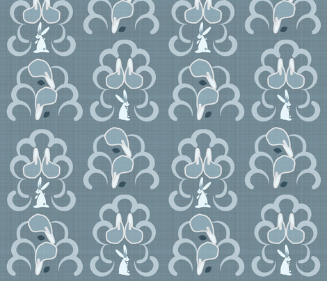 royal calla lilies fabric by annaboo on Spoonflower - custom fabric
