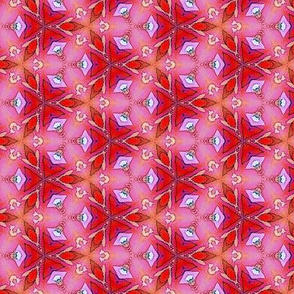 Red & pink triangles